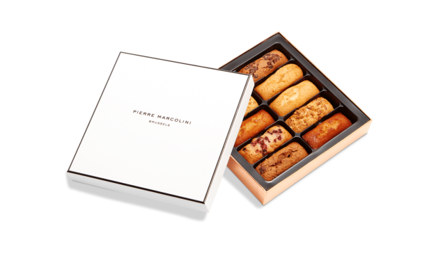Box of 10 Financiers Pierre Marcolini