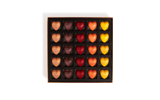 Box of 25 Hearts Pierre Marcolini