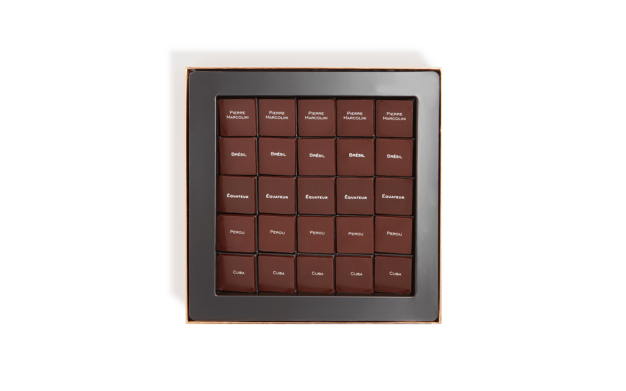 Box of 25 Saveurs du Monde Chocolates Pierre Marcolini