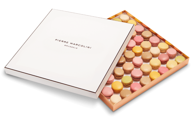 Original Box of 64 macarons