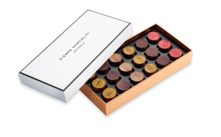 "Box of 18 chocolates ""Rare Whiskies and Rums"" Pierre Marcolini"