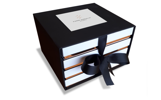 """""""Collection"""" four-drawer gift box"""