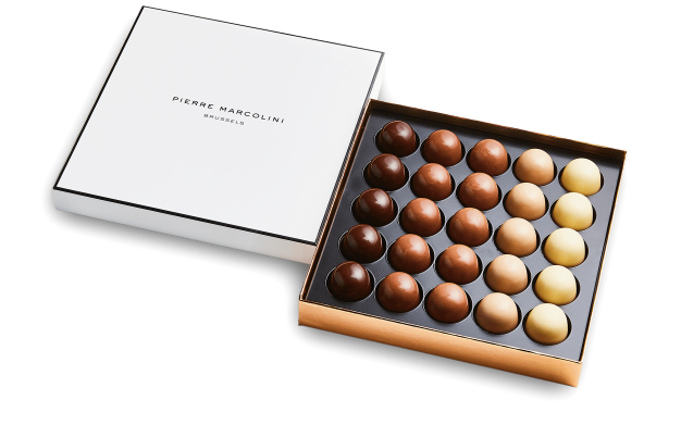Box of 25 iced Pralines Pierre Marcolini
