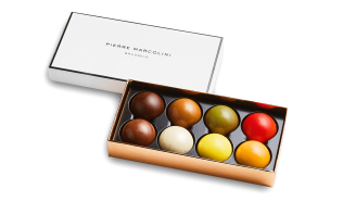 Box of 8 Melove Cakes Pierre Marcolini