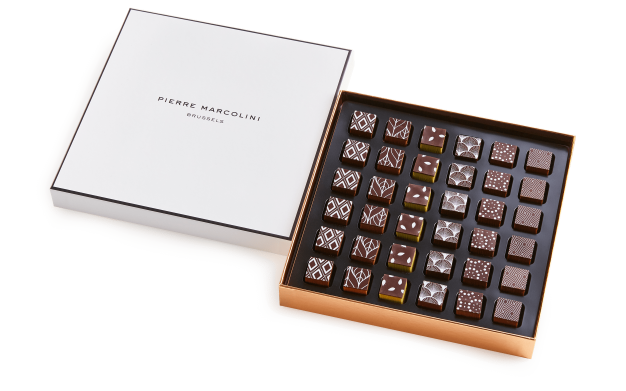 Box of 36 Pure Ganaches Pierre Marcolini
