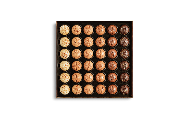 Box of 36 Praline Sleigh Bells Pierre Marcolini