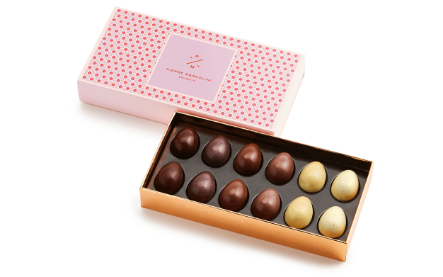 Box of 12 Small Eggs Pierre Marcolini