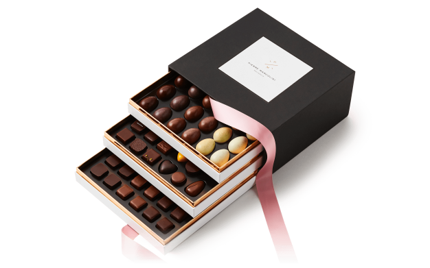 « Easter » three-drawer gift box Pierre Marcolini