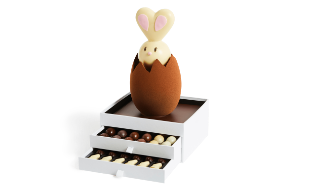 Large Rabbit and its 2 drawers Pierre Marcolini