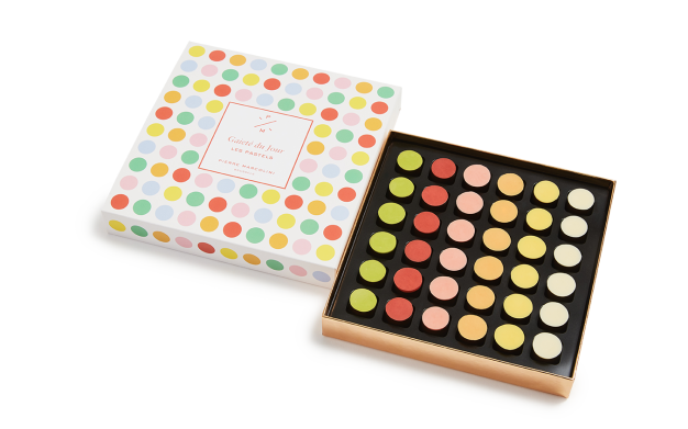 Box of 36 Pastels Pierre Marcolini