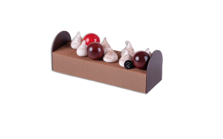 Pierre Marcolini chocolate yule log