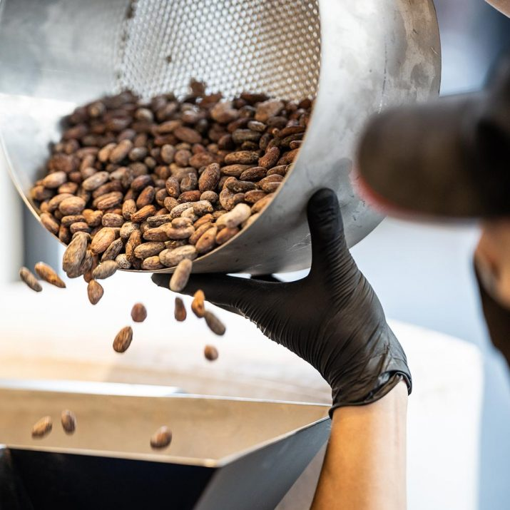 Pierre Marcolini Know-how Rösten bean to bar