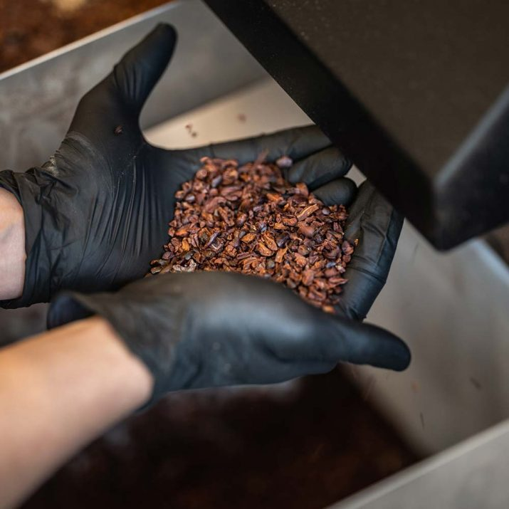 Pierre Marcolini Know-how Mahlen bean to bar