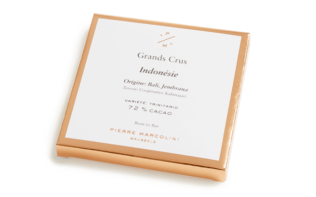 Indonesia tablet Pierre Marcolini Bean to bar