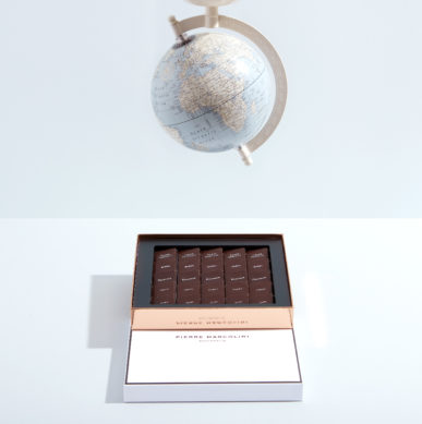 Chocolate gift ideas for globe trotter dad