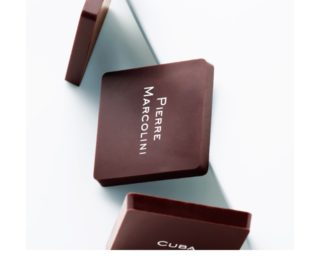 A signature in chocolate form