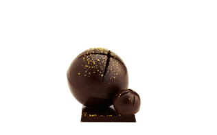 Duo of Dark Chocolate Sleigh Bells Pierre Marcolini